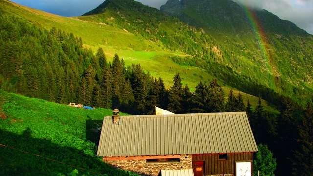 Etape 4 : Refuge de La Pierre du Carre - Gîte d'alpage de l'Oule GR®738