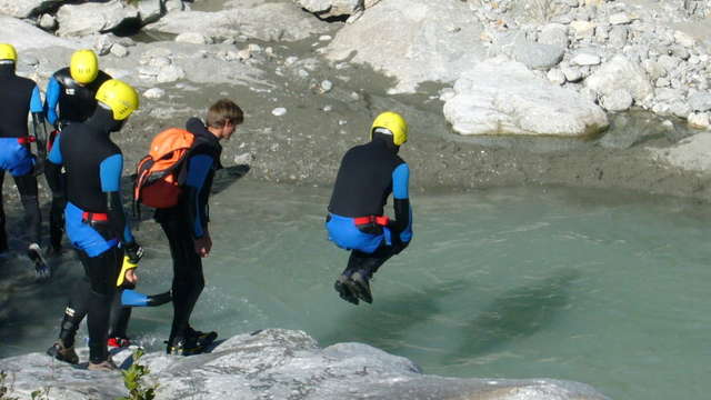 Canyoning of Ecot