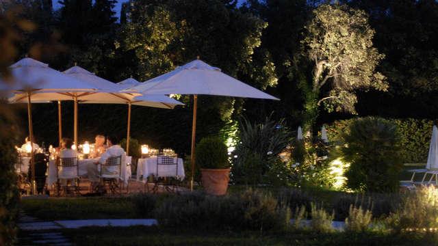 Gastronomic restaurant of the hotel La Villa les Rosiers