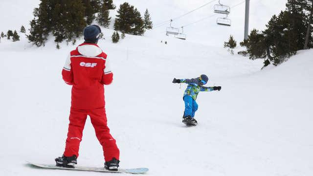 Snowboard - ESF de St-Léger-les-Mélèzes