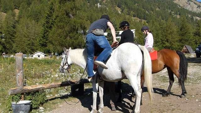 Escursione a cavallo - Marc Ratagne
