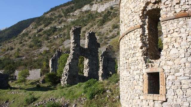 Ruines du Château de Lesdiguières