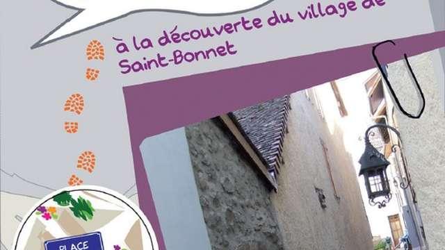 Jeu de piste de St Bonnet
