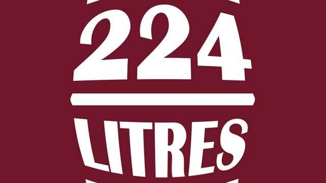 224 litres