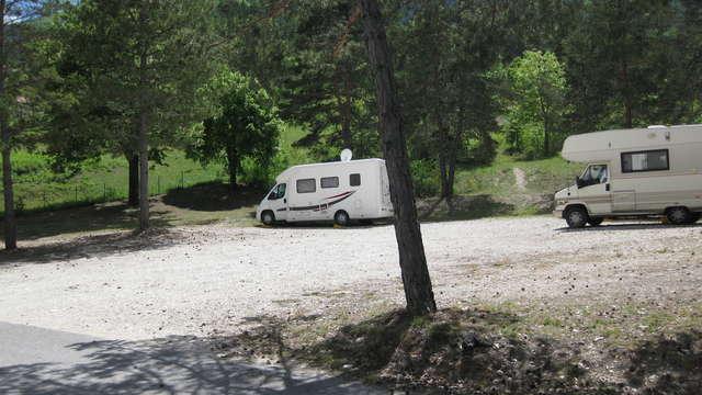 Aire d'accueil et de service camping-cars d'Annot