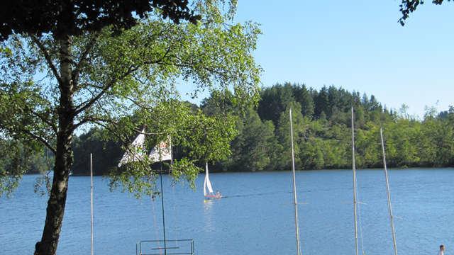 Voile et planche à voile Station Sports Nature Ventadour - Lac de la Valette
