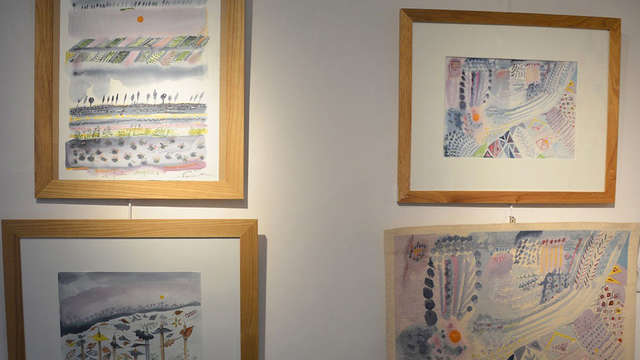 Exposition d'aquarelles de Martine Peucker-Braun