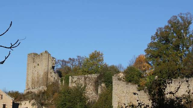 Site du Chapitre et Colline du Marchedieu