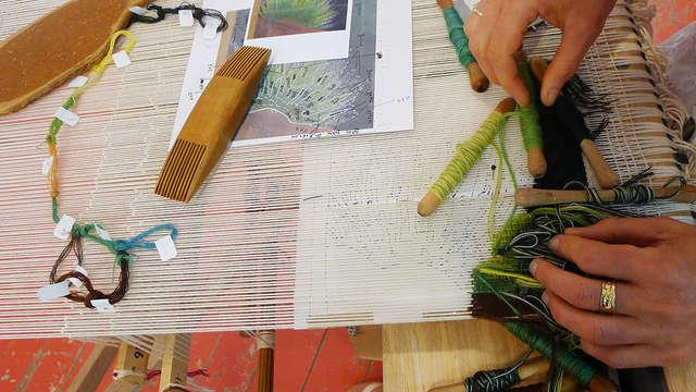 Stage d'initiation et de perfectionnement à la tapisserie d'Aubusson