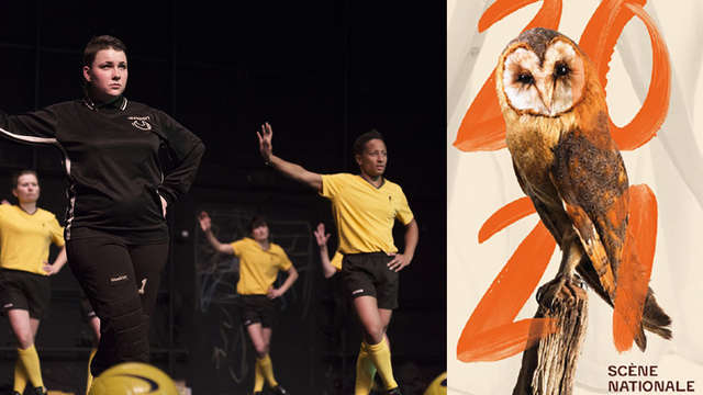 Danse : Juste Heddy / Footballeuses