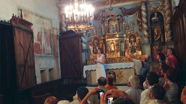 Visite guidée de l'Eglise Sainte Valérie du Moutier