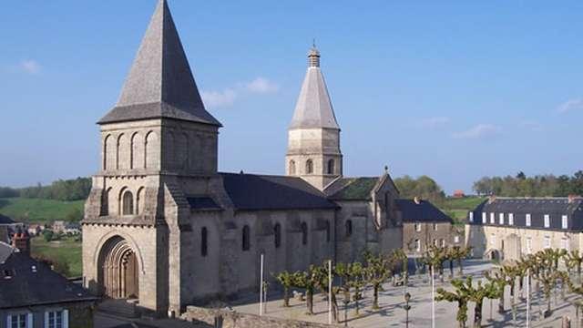 Visite de l'Abbatiale de Bénévent l'Abbaye
