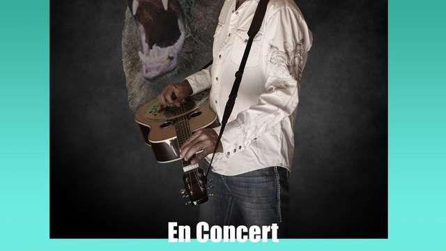 Concert de Bruno LE GRIZZLY au Ranch Heartland à Le Grand Bourg