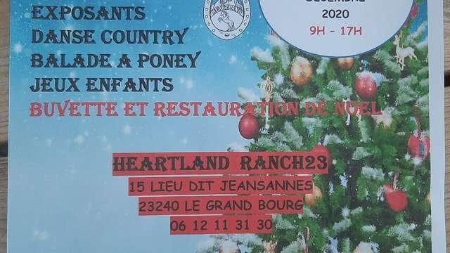 Marché de Noël au Ranch Heartland à Le Grand Bourg