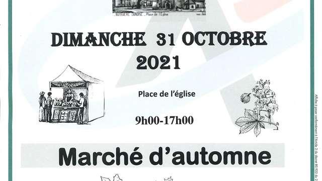 Marché d'automne /!\ Annule /!\