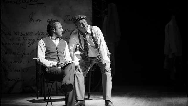 Théâtre : Jules et Marcel,Pagnol / Raimu, une éternelle amitié