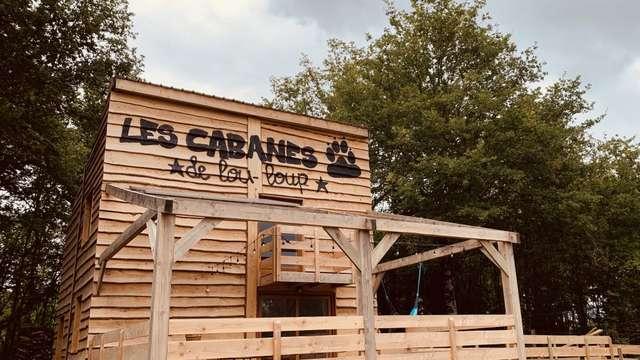 Location Les Cabanes de Lou-loup - La cabane Newton - 8 personnes