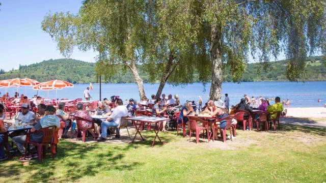 Les cabanes de la plage
