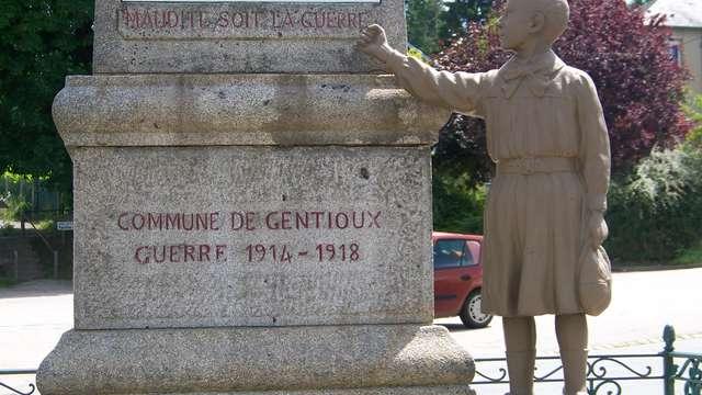 Monuments aux morts de Gentioux-Pigerolles