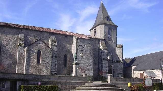 Concert dans l'église de Royère de Vassivière