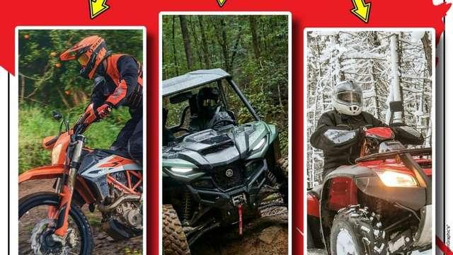 Rando de Vassivière : quad, moto, ssv