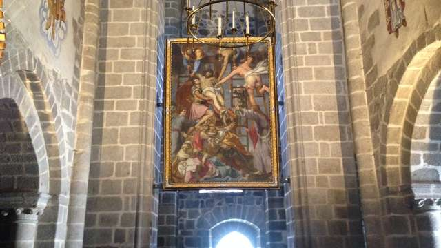 Présentation du tableau 'Descente de croix'