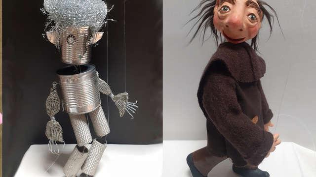 Fabrication de marionnettes