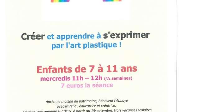 Atelier Express' Art à Bénévent l'Abbaye