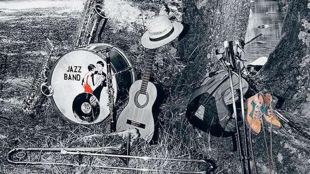 Ensemble de jazz de la Musique de l'Air 23ème festival d'automne en Creuse de Jazz à La Sout