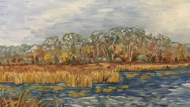 ' Une année de peinture' expo Violette