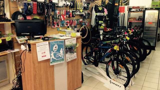 Cycles et Pêche : vente, réparation de vélos et transport de bagages
