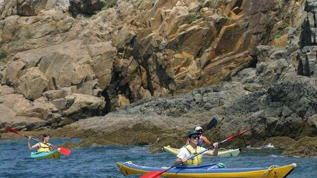 Kayak au pays des rias