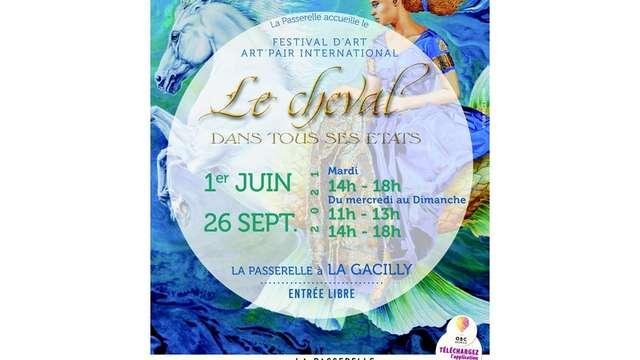 Exposition Le Cheval dans tous ses états à La Passerelle à La Gacilly