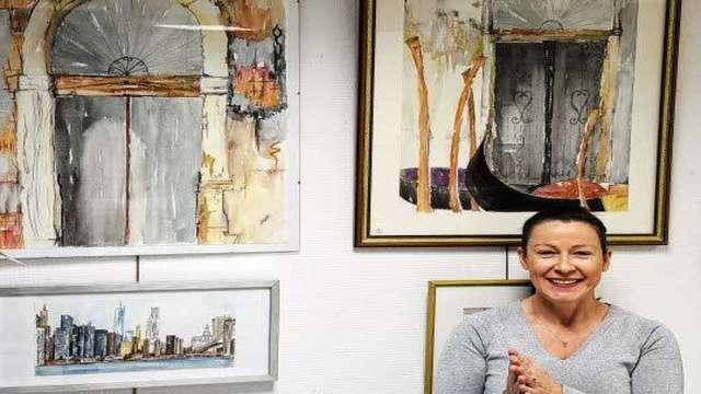 Exposition d'aquarelles de Anne Cornec