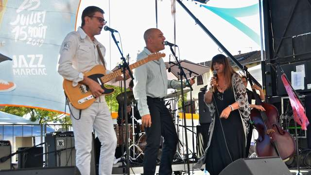 Festival Abers Blues : Gladys Amoros Quartet et Nico Wayne Toussaint