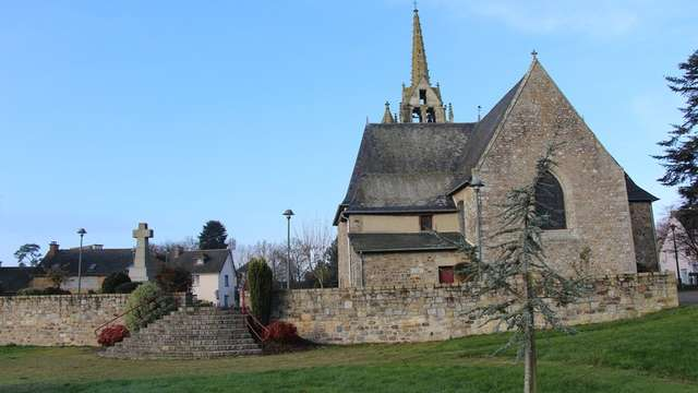 Eglise de Saint Tudin - Landujan