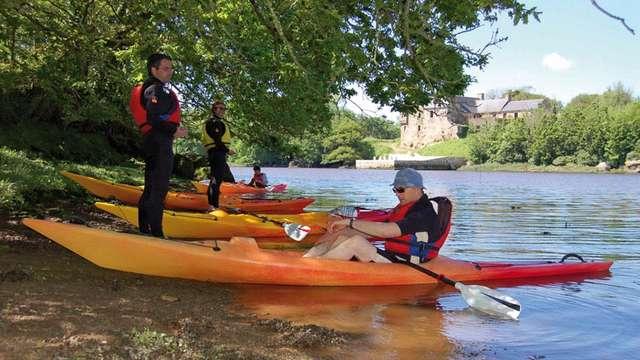 En kayak au fil de l'Aber Ildut