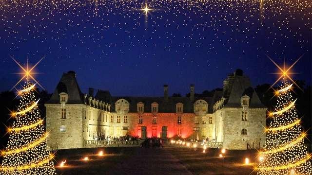 Féeries de Noël au Château Le Rocher Portail