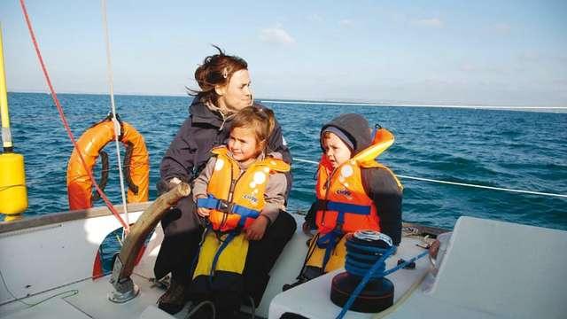 La mer d'Iroise en voilier habitable