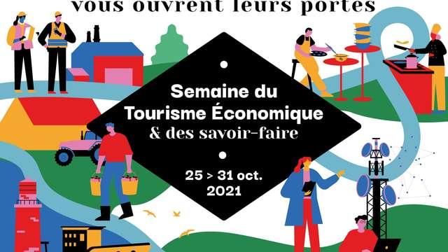 Visite de la cidrerie Coat Albret - Semaine du tourisme économique et des savoirs-faire