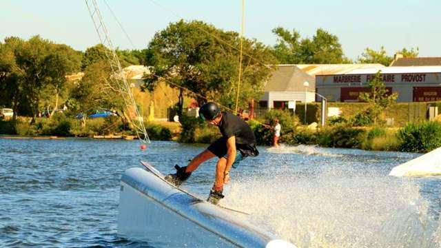 Wakepark Advance Ride - Lac de Ty colo