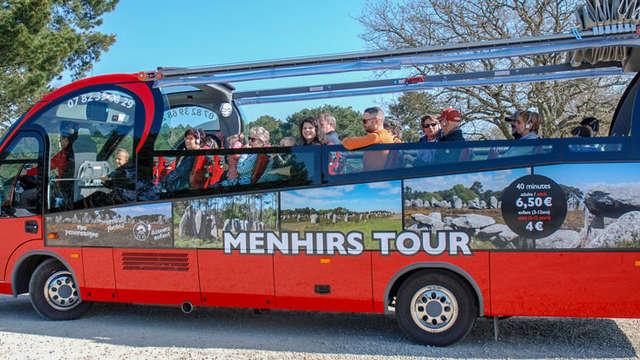 Menhirs Tour - Carnac Visio Tour