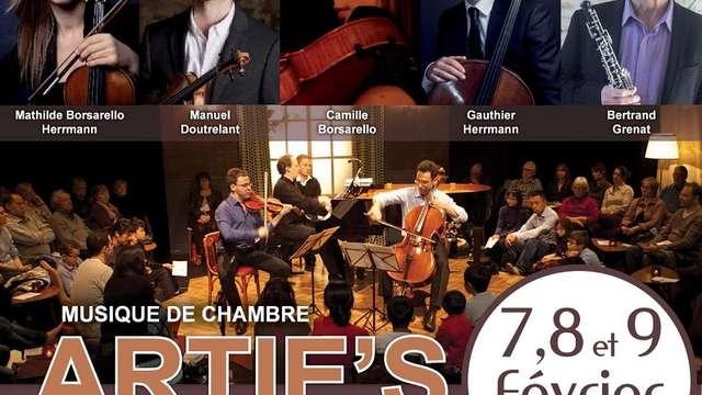 Concert de musique de chambre - Formation Artie's
