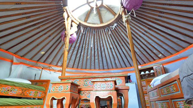 Yourtes mongoles - Kervallon