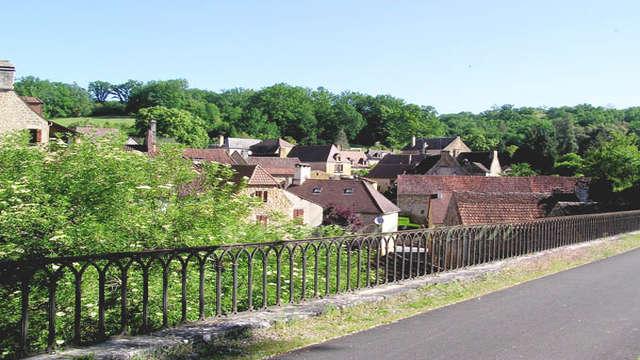 Voie Verte Cazoulès - Sarlat, accès via Souillac