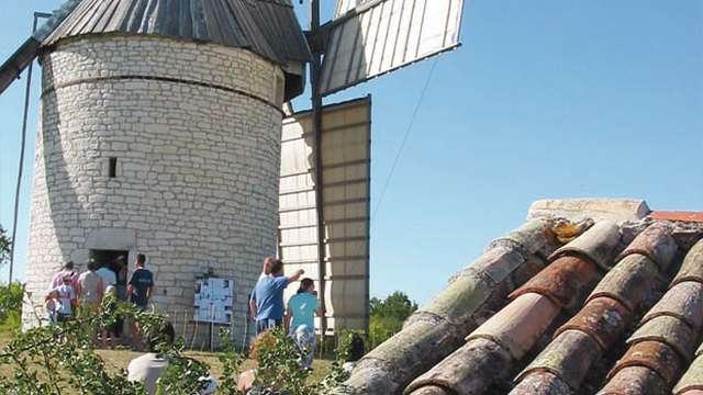Bastide et Moulins en Quercy Blanc
