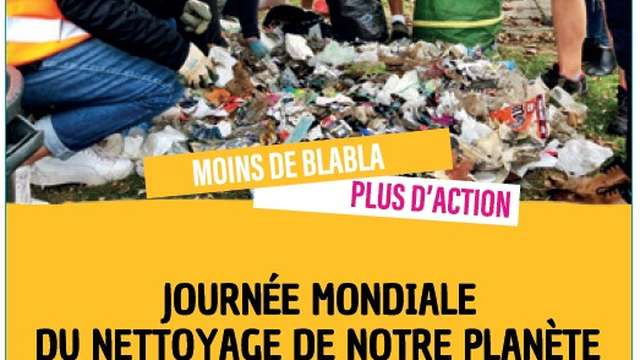 World Clean Up Day à Recy