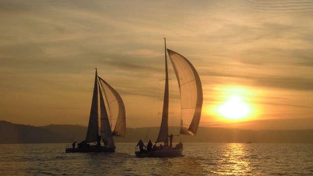 Journée de navigation à la voile au départ de Dieppe