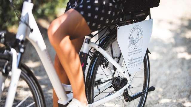 Louer un vélo électrique - Domaine Le Coq Enchanté