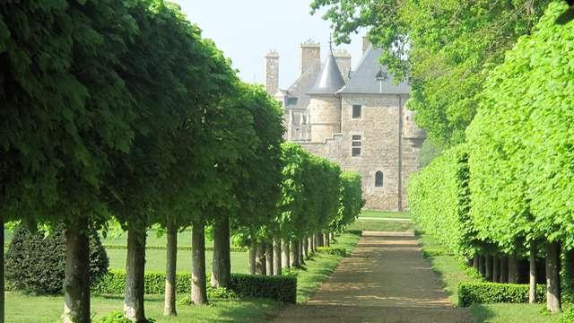 La charmille du château de Lanvellec